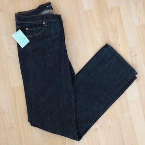 7 For All Mankind Dark Wash Straight Leg Jeans